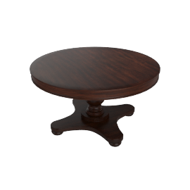 Address Dia 6-Seaster Round Dining Table