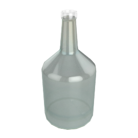 BOTTLE FAT MILKY WHITE