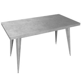 Tolix Marais Four-Seater Dining Table