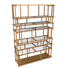 Offcut shelving unit