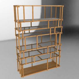 Offcut shelving unit