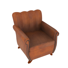 Ella Leather Chair