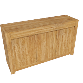 John Lewis Henry 3 Door 3 Drawer Sideboard