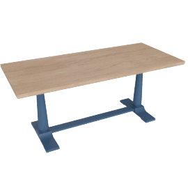 Pinner Rectangular Dining Table, Atlantic Blue