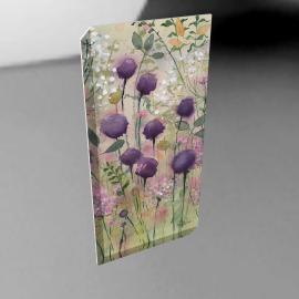 Catherine Stephenson - Lilac Pod Print on Canvas, 80 x 40cm