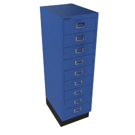 Bisley Non-Locking 9 Multidrawer