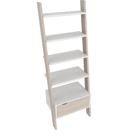 Delta Bookcase with 1 Drawer by tvilum