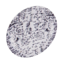 higher mathematics plate by fornasetti