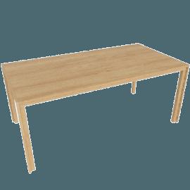 Doubleframe Table 70 x 36, Oak