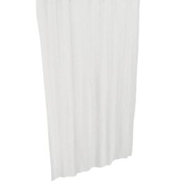 Glitz Shower Curtain with Hooks - 240x180 cms