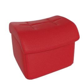 Gemini Footstool, Ferrari Red