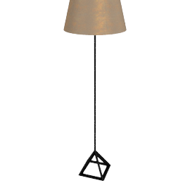 Tom Dixon Base Light Floor Light, brushed brass
