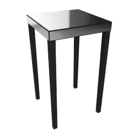 Astoria Mirrored Lamp Table