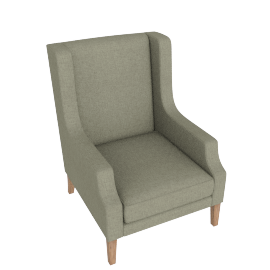 Presley Accent Chair Green