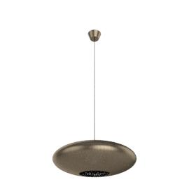 Zenza Filisky Copper Oval Pendant Ceiling Light