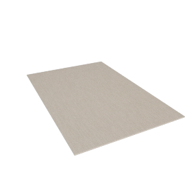 Chilewich Reed Floor Mat 6'x8'10'', Seashell