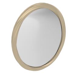 Sicilia Mirror, Pearl White/Champagne
