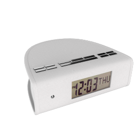 PURE Siesta DAB Digital Clock Radio, White
