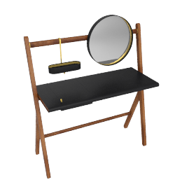 Ren - Dressing table, Carbone