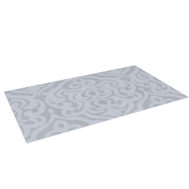 Arctic Bath Mat - 70x120 cms, Silver
