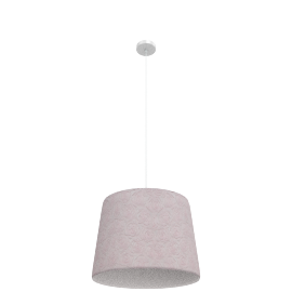 Rose Pendant Lamp, Pink