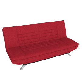 Faith Sofa Bed, Dark Red