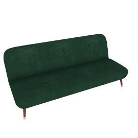 Margot Sofa Bed, Pine Green Velvet