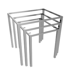 Blend Nest of Table Frame, Polished