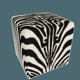 Zebra Cube - Zebra