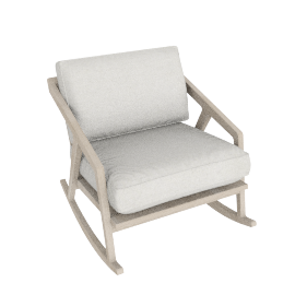 Katakana rocking chair