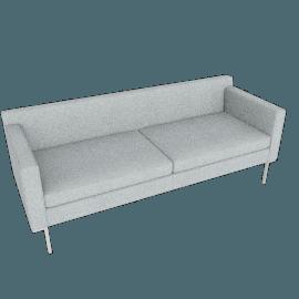 Theatre Sofa, Maharam Mode Fabric, Surf
