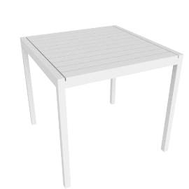 Eos Square Table - White