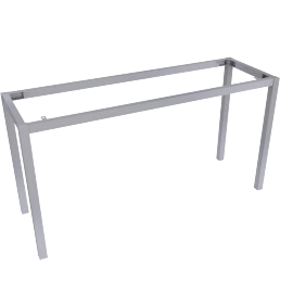 Blend Console Table Frame, Brushed