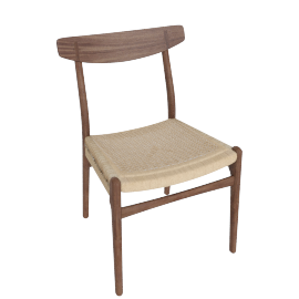 CH23 Side Chair, Walnut