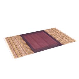 Ankara Flat Weave Rug, Cassis, L150 x W90cm