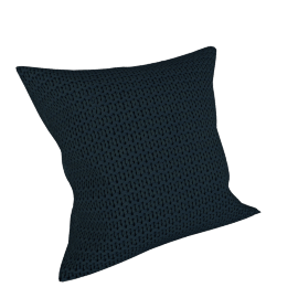 Chunky Knit Cushion, Steel
