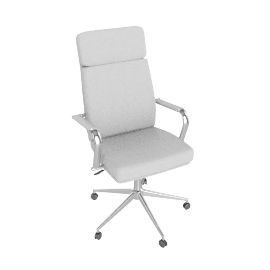 May Office Chair, White