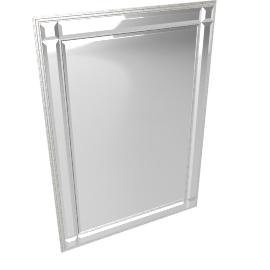 Marni Mirror, Silver, 107x76cm