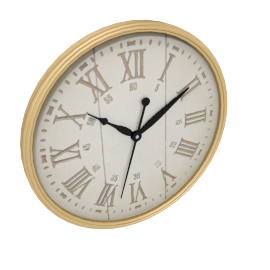 Adele Wall Clock, Gold