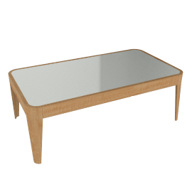 John Lewis Domino Glass Top Coffee Table
