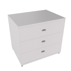Atlas Wide 3 Drawer Dresser