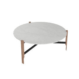 Free-Range Coffee Table in Marble