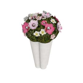 Constancy Anemone Planter 28x21 cms