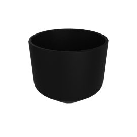 Monstruosus Planter, Model 3 Medium, Black