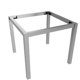 Blend End Table Frame, Polished