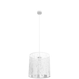 Devon Easy-to-fit Ceiling Shade, Small, White
