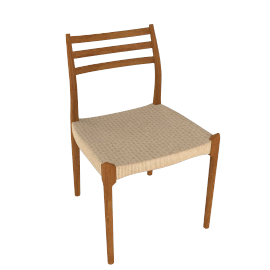 Moller Side Chair 78 - Woven