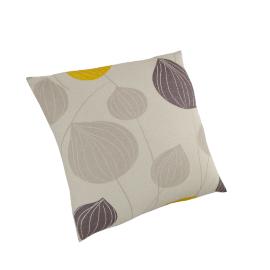 Lanterns Cushion, Steel / Citrine
