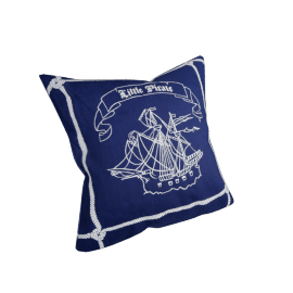 Li'l Pirates Cushion Cover - 45x45 cms