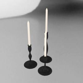 Eva Zeisel Candlestick Set
